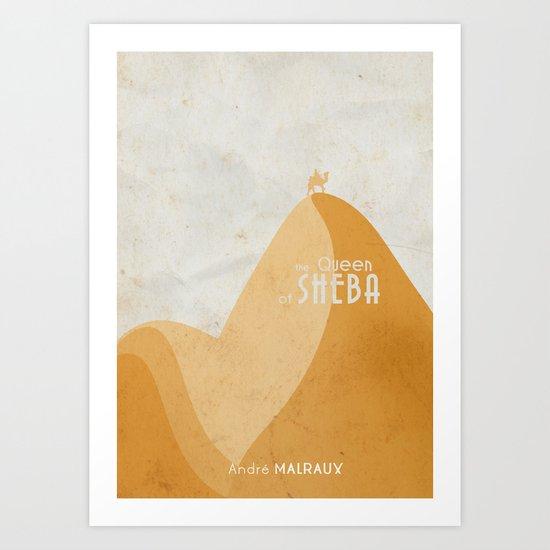 Queen of Sheba - A Book Cover Art Print