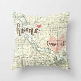 Love KC Throw Pillow