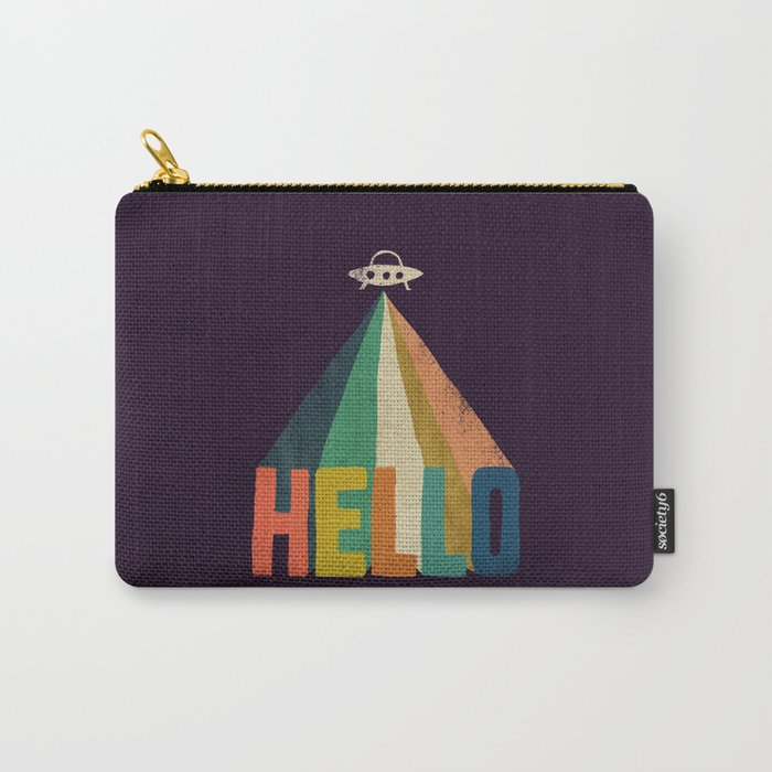 Hello I come in peace Carry-All Pouch