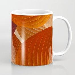 Leaves in Terracotta Color #decor #society6 #buyart Coffee Mug
