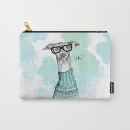 Funny Greyhound Carry-All Pouch