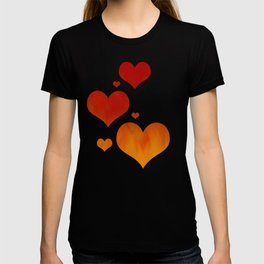 Flames of Gold T-shirt