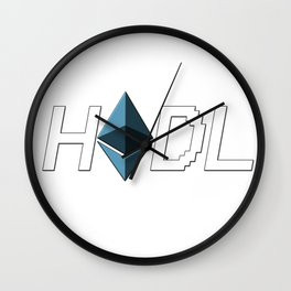 HODL Ethereum Wall Clock