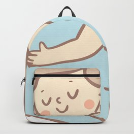 Mermaid And Dolphin Drawing Backpack