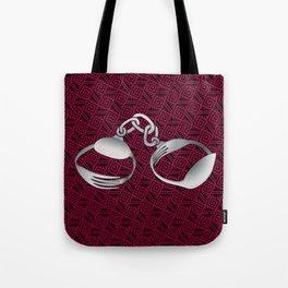 Cutlery Handcuffs Tote Bag
