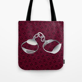 Cutlery Handcuffs Tote Bag