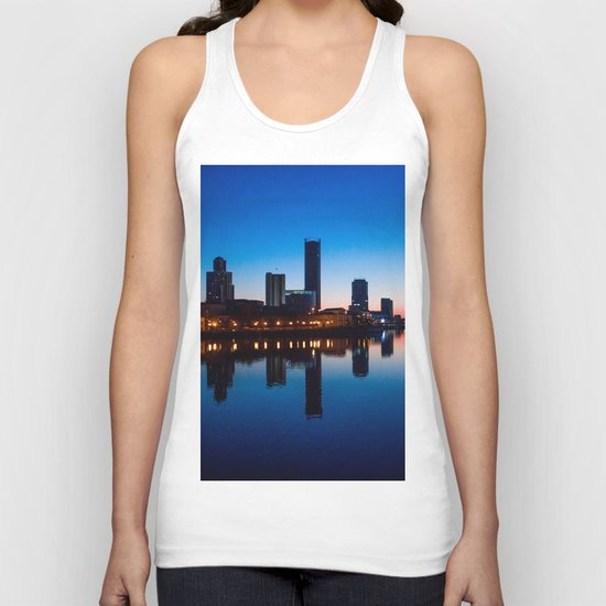 Night city Unisex Tank Top