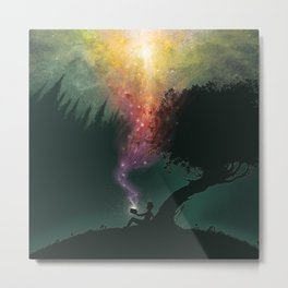 The Dreamer of Everywhere, Everything, Everytime Metal Print