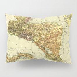 Central America & Panama Map (c 1920) Pillow Sham