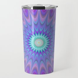 Ice mandala Travel Mug