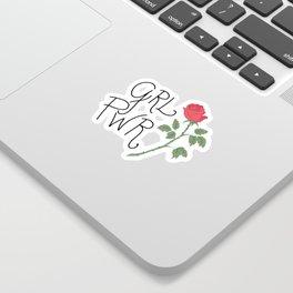 GRL PWR Sticker