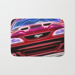 Mustang Neon Bath Mat