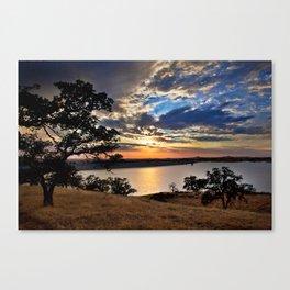Hensley Lake Canvas Print