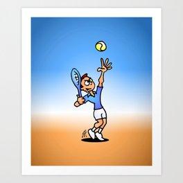 Tennis Art Print