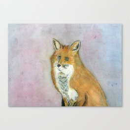 Frustrated Fox Canvas Print