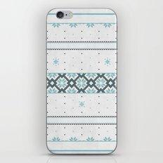 Christmas pattern iPhone & iPod Skin