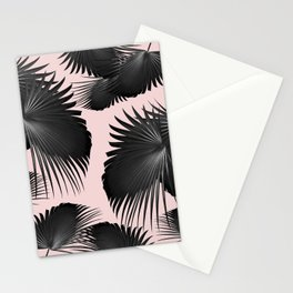 Fan Palm Leaves Paradise #2 #tropical #decor #art #society6 Stationery Cards