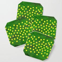 Flower Dandelion (rectangular) Coaster