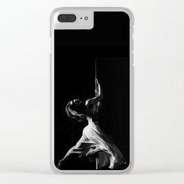 Pole dance Clear iPhone Case