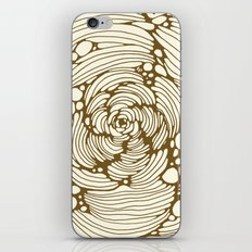 gold iPhone & iPod Skin