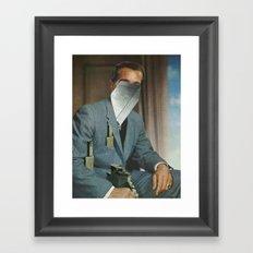 Portrait 1 Framed Art Print