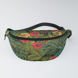 Tropical garden Fanny Pack
