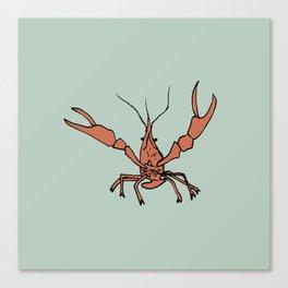 Mr. Crawfish Canvas Print