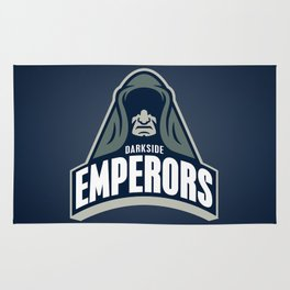 DarkSide Emperors -Blue Rug