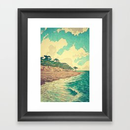 Arriving at Fenzhuo Framed Art Print