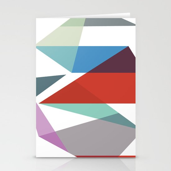 Shapes 015 Stationery Cards