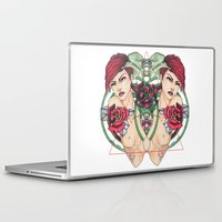 lizard Laptop & iPad Skins featuring .liZard. by chiara costagliola