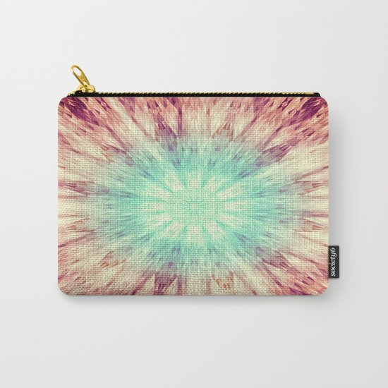 Mandala Glow Carry-All Pouch