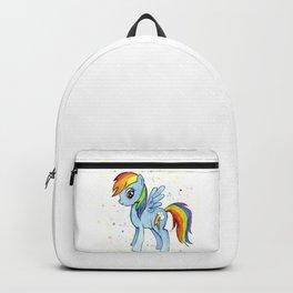 Rainbow Pony Backpack