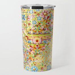 Sunshine Crazy Quilt (printed) Travel Mug