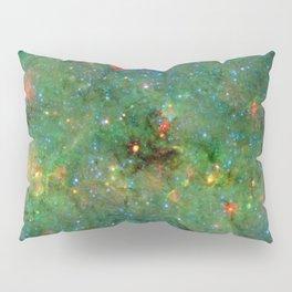 Celestial Cosmic Dusty Cloud Space Galaxy Pillow Sham