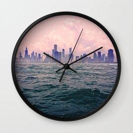 City Wave Wall Clock
