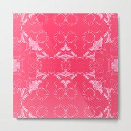 Infra Red Kaleidoscope Pattern #3 Metal Print