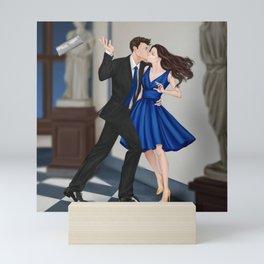 clandestine kiss Mini Art Print