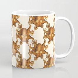 Scientific Orange Octopus Coffee Mug