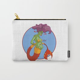 Mermaid with Child Carry-All Pouch