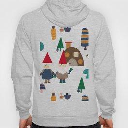 Gnome white Hoody