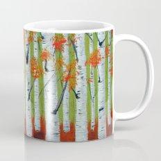 Atumn Birch trees - 5 Mug