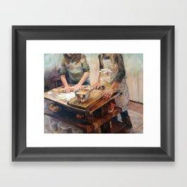 Home Made Framed Art Print