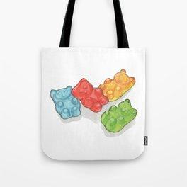Candies & Sweets: Gummi Bears Tote Bag