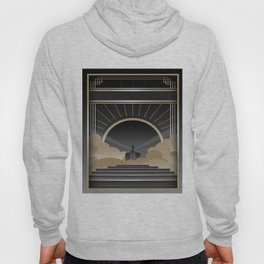 Art deco design V Hoody