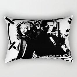 The Office - Threat Level Midnight Movie Poster Rectangular Pillow