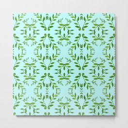 zakiaz holli aqua & green Metal Print
