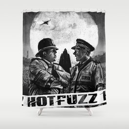 Hot Fuzz Shower Curtain