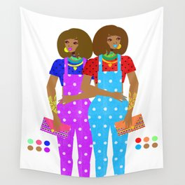 Overalls Wall Tapestry