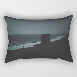 REYNISFJARA BLACK SAND BEACH / ICELAND Rectangular Pillow